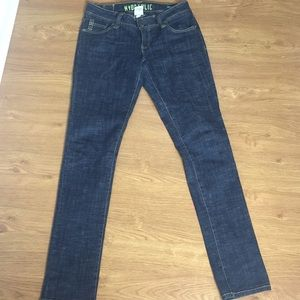 Hydraulic Denim Blue Jeans Size 9/10 Straight Leg